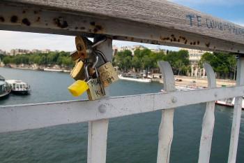 Ponte das Artes em Paris, França