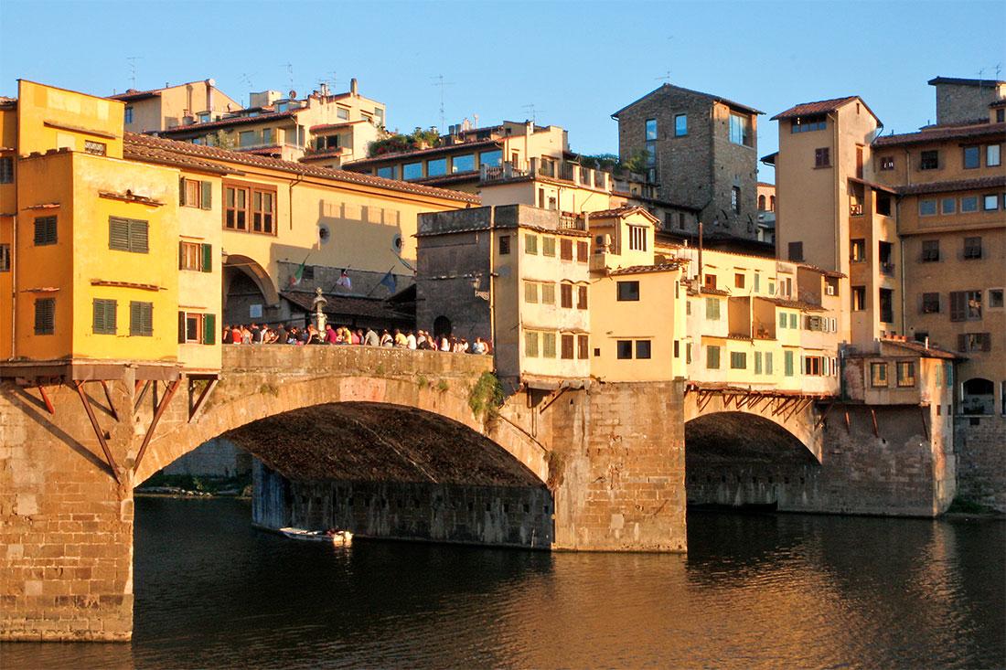 Ponte Vecchio em Florença