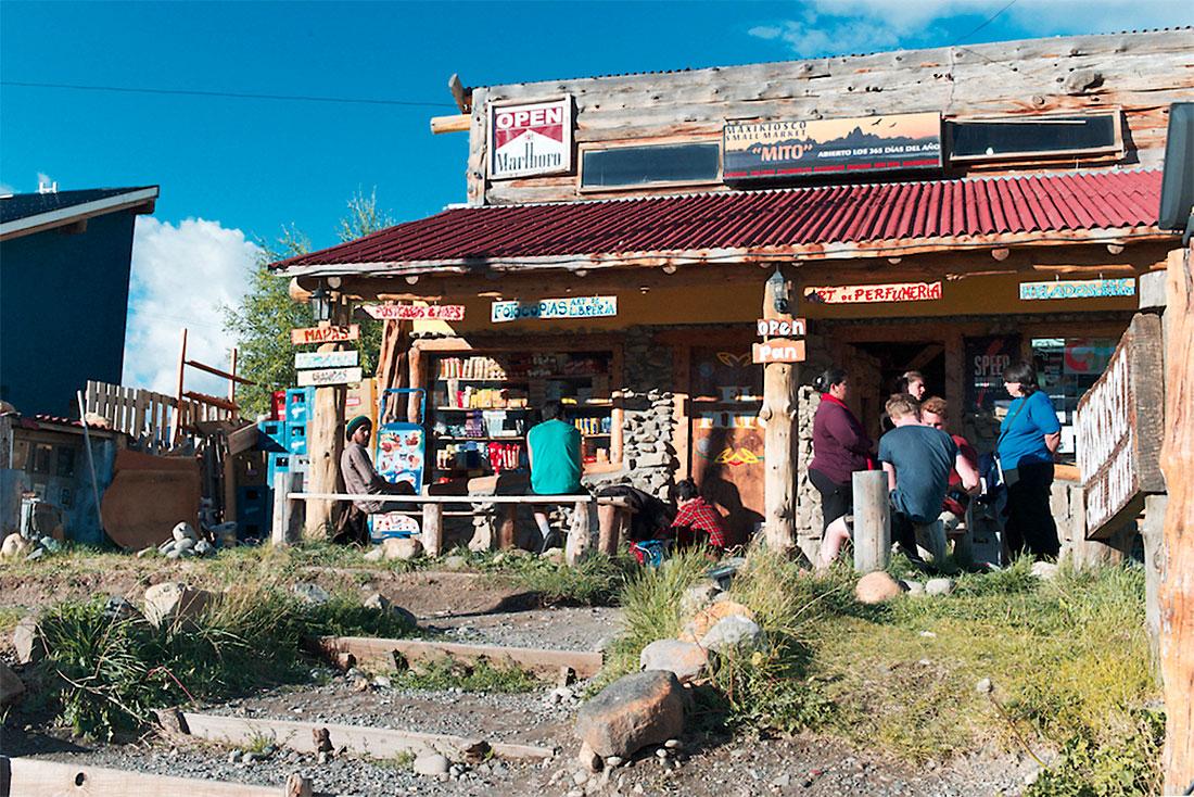 café turistico em El Chalten