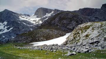 Pico La Rasa de la Inagotable nas Asturias