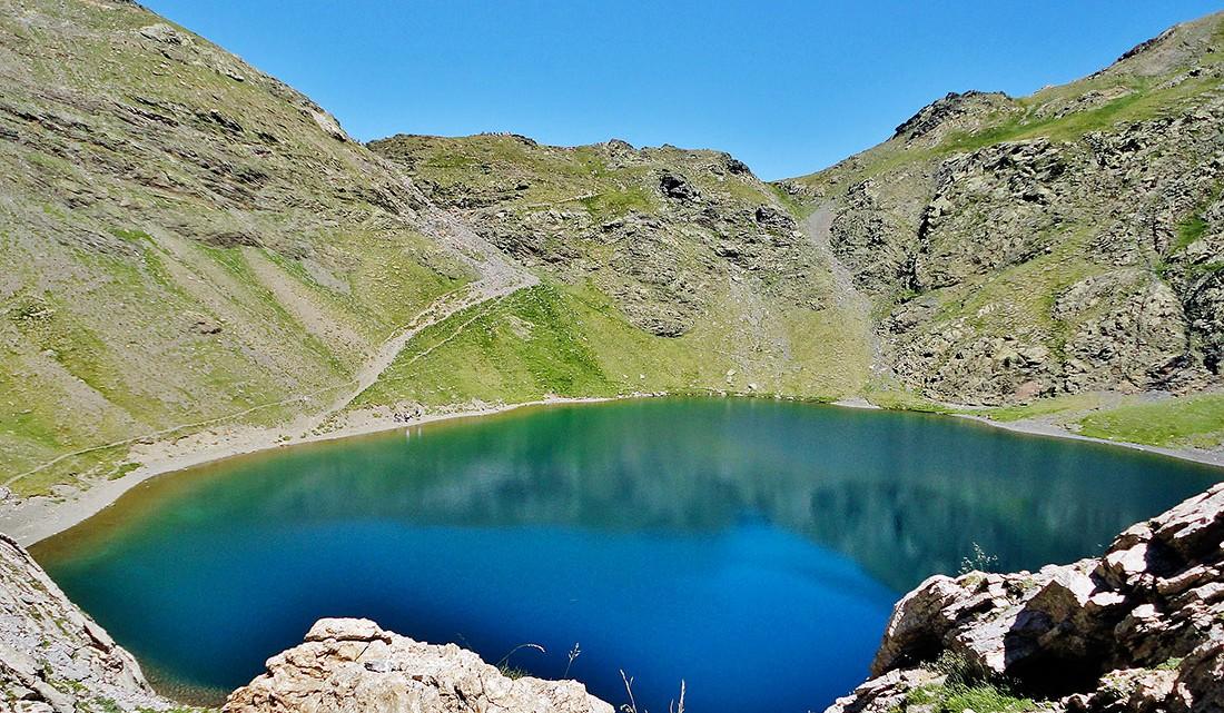 lago nos Pirenéus