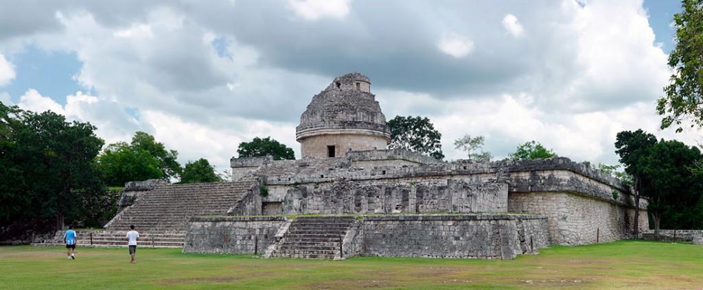 observatório el charcol em Chichén Itzá