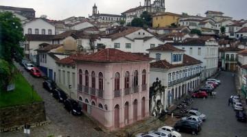 miradouro da casa dos contos em Ouro Preto, Brasil