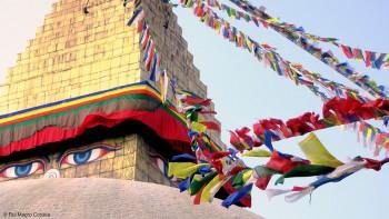 parte superior da stupa de boudhanat