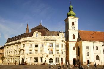 Câmara Municipal de Sibiu, na Transilvânia