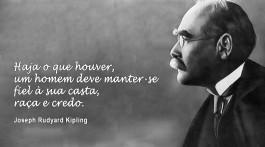 fotografia e citação do livro três contos para da Índia de Joseph Rudyard Kipling