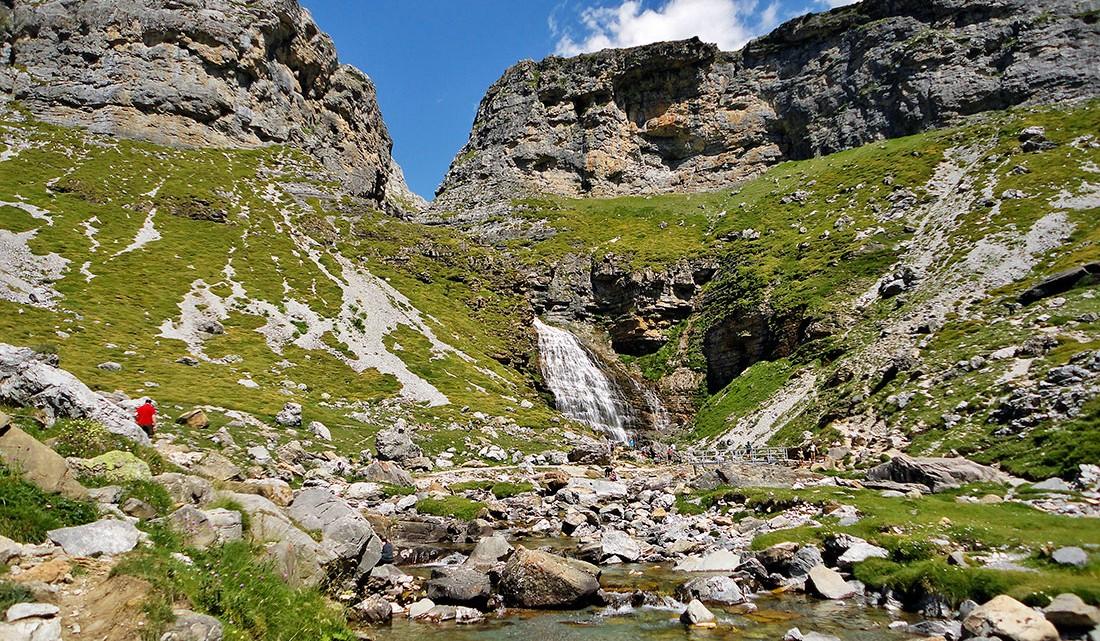 rios e lagos no Vale de Ordesa