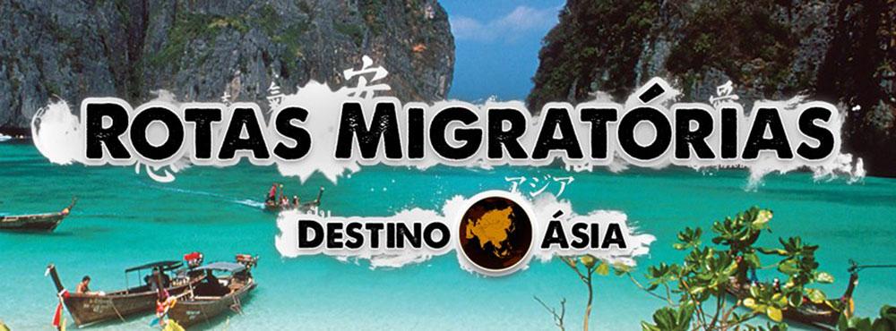rotas migratórias no sudoeste asiático