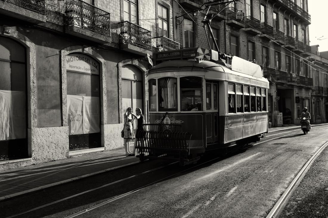 eléctrico turístico de Lisboa