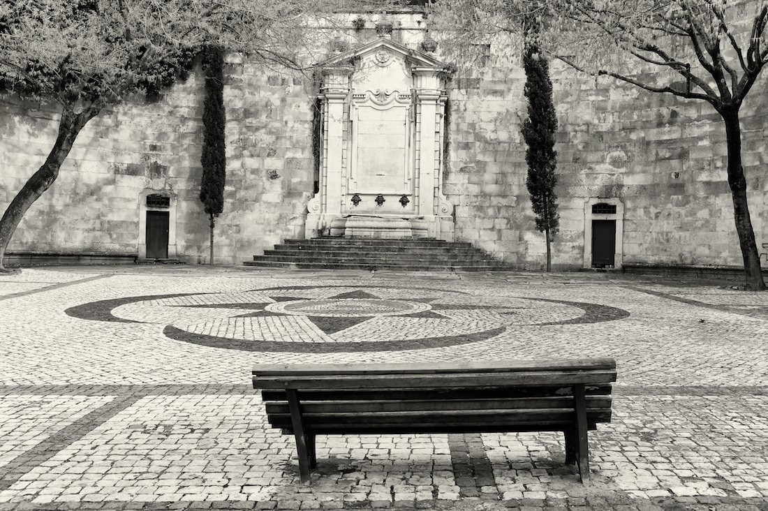 fonte pública da Lisboa antiga