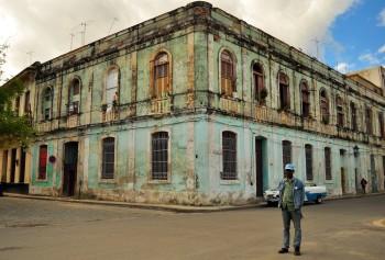 Uma posse não solicitada em Havana Velha