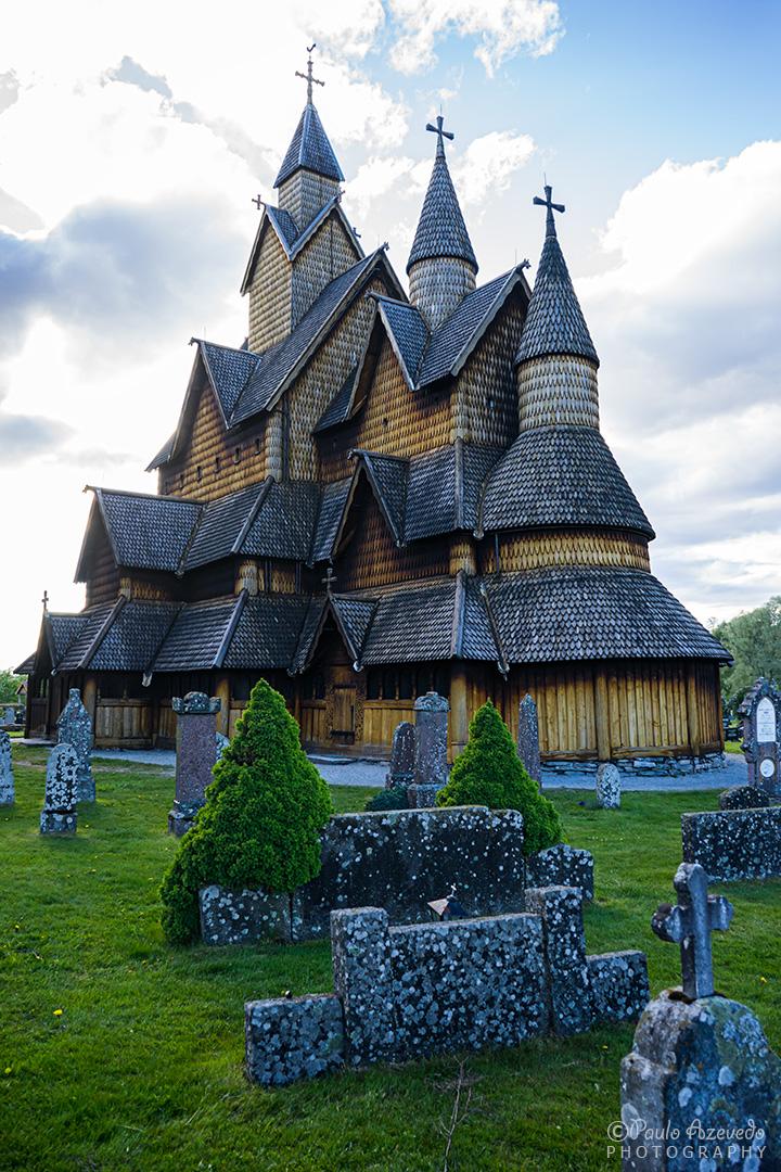 igreja de madeira de Heddal