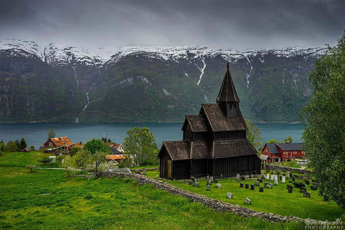 igreja de madeira Urnes stavkyrkje