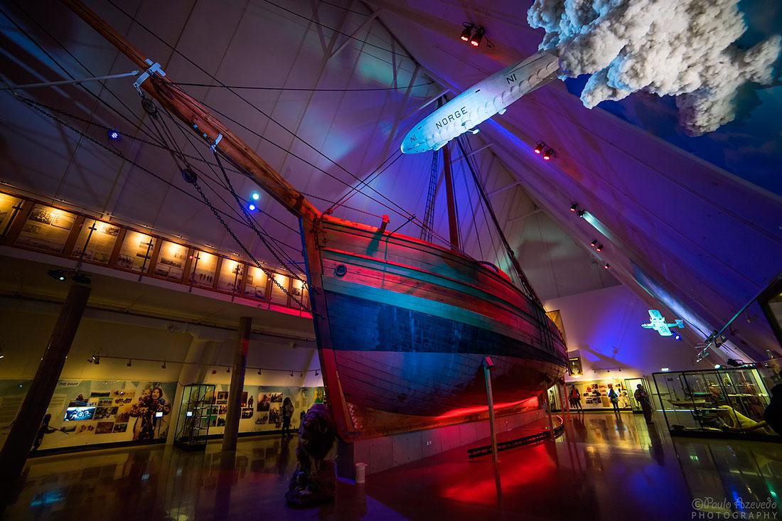 navio no museu fram em Oslo