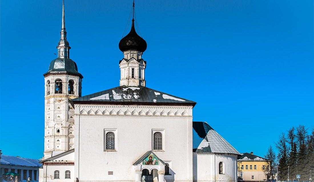 Igreja da ressurreição em Suzdal, Rússia.