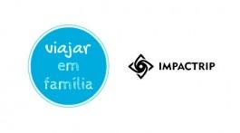 logotipos viajar em família e impactrip