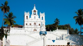 Igreja de Nossa Senhora da Imaculada Conceição em Pangim, Goa.