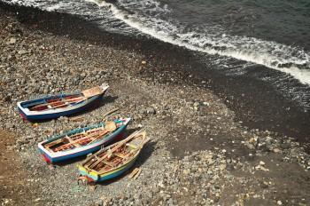 Barcos de Pesca em Santo Antão