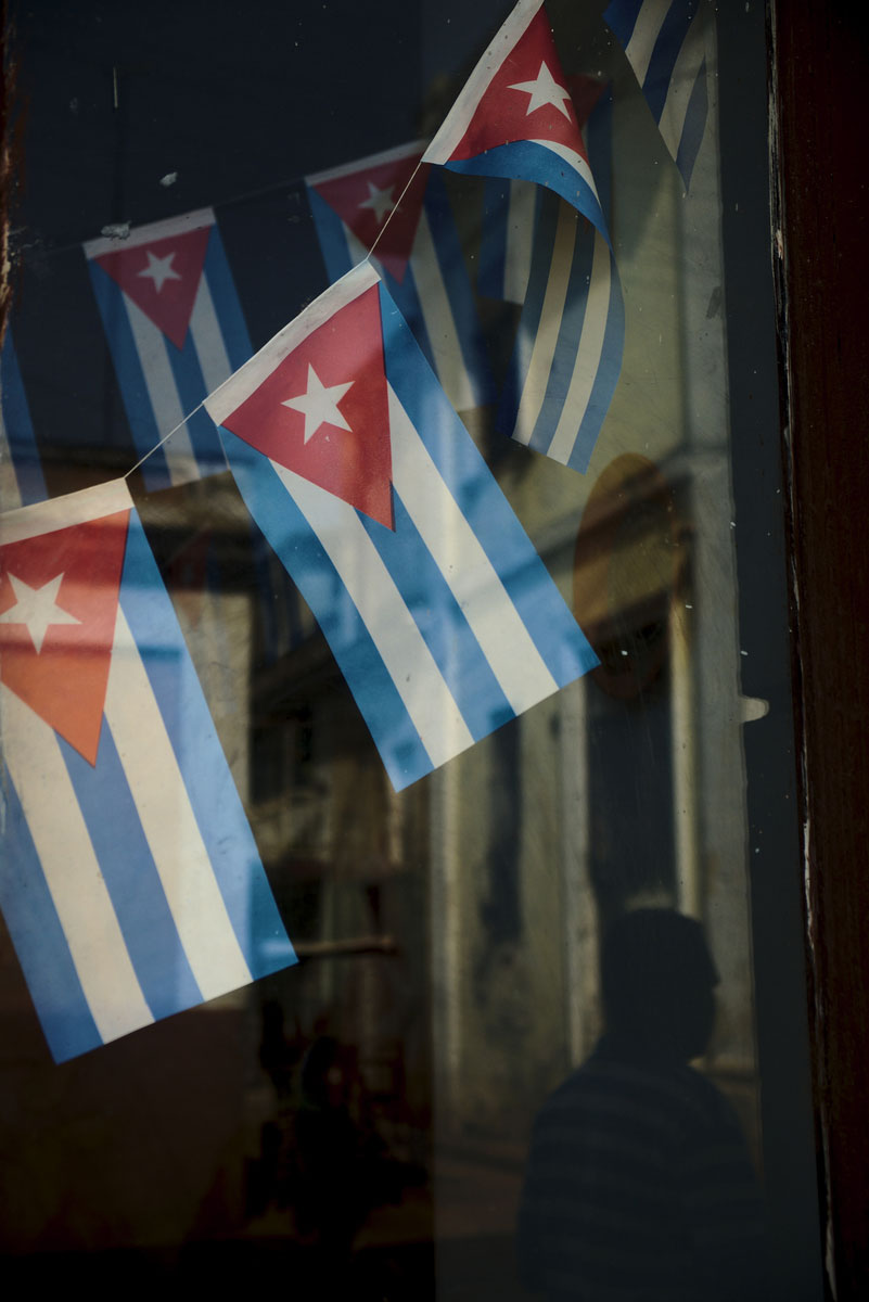 Bandeiras em Cienfuegos