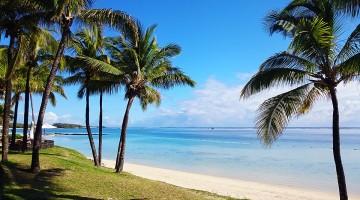 Resorts de luxo e praias cheias de palmeiras à beira mar, são uma das contantes na República da Maurícia.