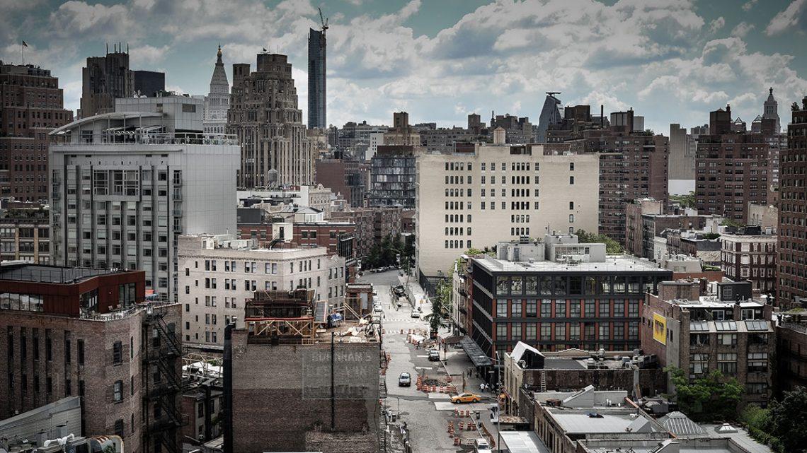 Vista do Museu Whitney para o centro de Nova Iorque, uma das cidades que alimenta o sonho americano.