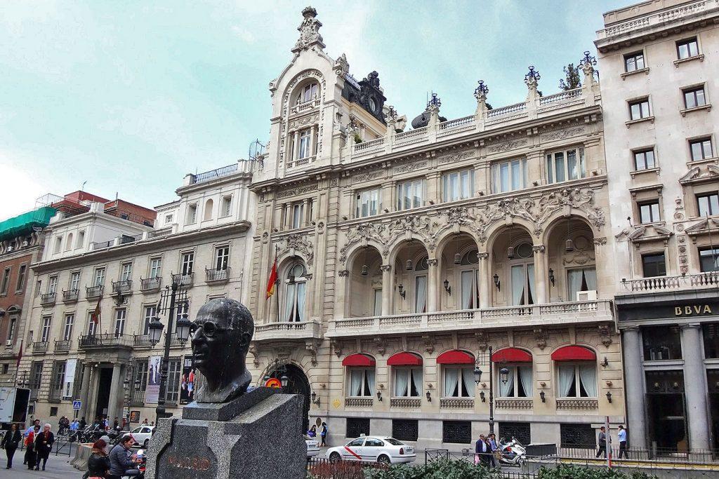 Edificio do Casino Madrid