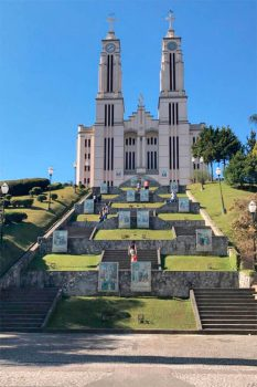 Igreja Matriz do Puríssimo Coração de Maria, em São bento do Sul.